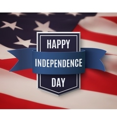 independence day 4th july background vector image