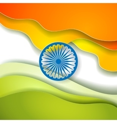 Indian Independence Day concept background with vector image