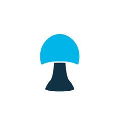 mushroom icon colored symbol premium quality vector image