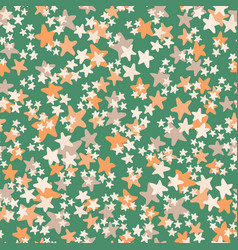 seamless pattern with white orange beige vector image