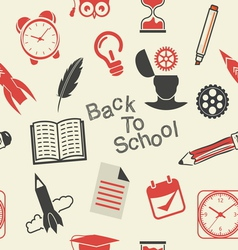 Back to school patern4 vector