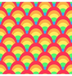 Colorful rainbow pattern vector image vector image