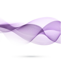 Abstract flowing waves vector