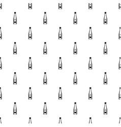 bottle of ketchup pattern vector image vector image