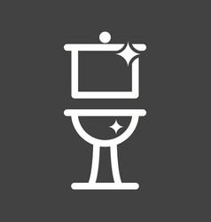 Clean bathroom vector