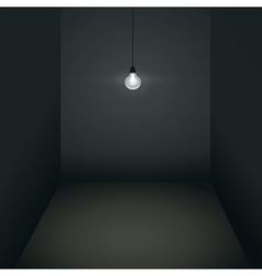 Gloomy room vector