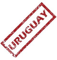 New Uruguay rubber stamp vector