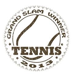 Tennis label vector