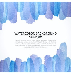 Watercolor Blue and Purple Abstract Background vector