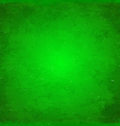 Green Christmas themed grungy background vector image vector image