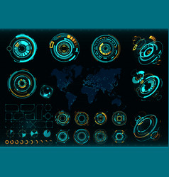 Abstract future concept futuristic interface vector