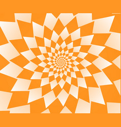 abstract orange geometric background wallpaper vector image