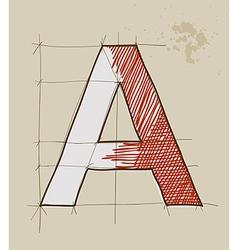 Artistic lettering vector