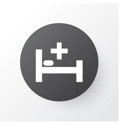 Bed icon symbol premium quality isolated tent vector