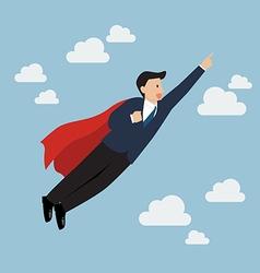 Businessman Super Hero vector image