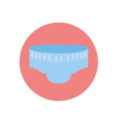 Isolated badiaper design vector