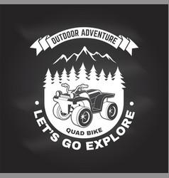 Let s go explore summer camp vector