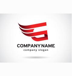 Letter g logo template design emblem design vector