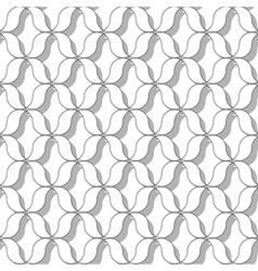 Sinusoida seamless pattern vector