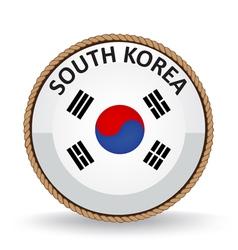 South Korea Seal vector