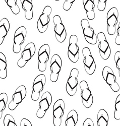 Flip flops seamless pattern vector image