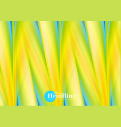Colorful soft smooth stripes abstract background vector