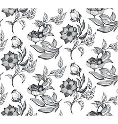 floral seamless pattern romantic elegant vector image