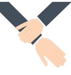 Human hand help support icon graphic vector
