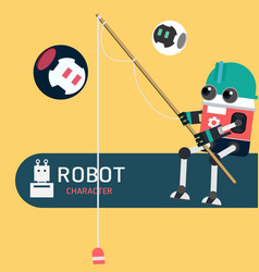 Robot character vector