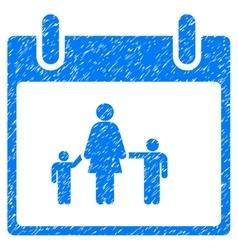 Mother Calendar Day Grainy Texture Icon vector image vector image