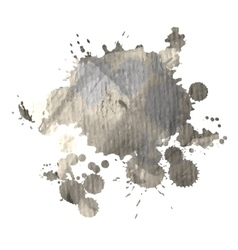Grunge watercolor spot for design vector image vector image