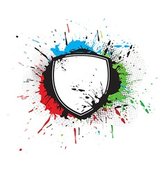 Shield designs vector image
