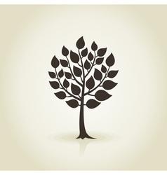 Tree wood3 vector image vector image
