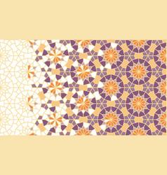 Arabesque art pattern geometric arabesque vector