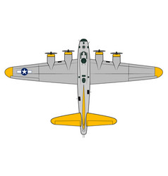 B-17-flying-fortress vector