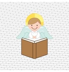 Cute angels design vector