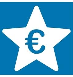 Euro Hit Parade Star Icon vector image