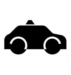 Glyph vehicle icons vector