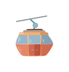 Gondola isolated vector
