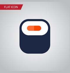 Isolated oriental flat icon maki element vector