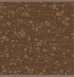 Seamless texture ground with small stones vector
