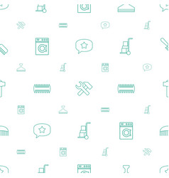 Service icons pattern seamless white background vector