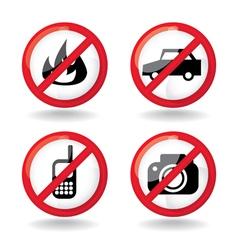 Set do not allowed symbols vector