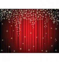 Stage sparkles vector