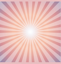 Sunrise Sun Sunburst Pattern vector image