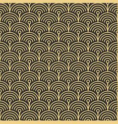 template abstract circle art deco cs6 vector image