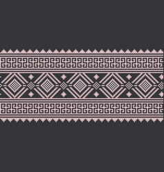 Ukrainian folk seamless vector