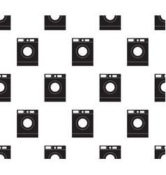 washing machine seamless vector image
