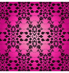 background with seamless pattern nine vector image vector image
