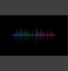 Sound radio audio light wave background vector